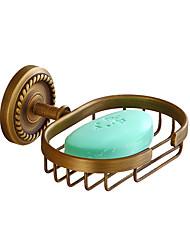 Недорогие -Мыльницы и держатели Креатив Античный / Традиционный Латунь / Нержавеющая сталь / железо Ванная комната / Гостиничная ванна На стену