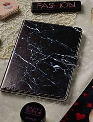 Недорогие -регулируемый чехол для яблока / Samsung Galaxy / Huawei / Acer / Asus / Amazon / Lenovo черный мрамор искусственная кожа 7-7,9 дюйма