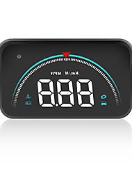 Недорогие -3.5-дюймовый автомобильный дисплей obd2 head-up obd hud цифровой спидометр цветной проектор на лобовом стекле