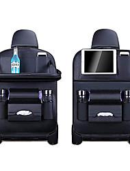 Недорогие -органайзер для хранения задних сидений автомобильный держатель для мусорной сетки многоканальная дорожная сумка вешалка для автокресла вместимость кожаная сумка для универсальных на все годы