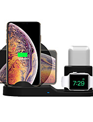 Недорогие -KawBrown Smartwatch Charger / Зарядное устройство для дома / Беспроводное зарядное устройство Зарядное устройство USB USB Беспроводное зарядное устройство Не поддерживается 2 A DC 9V / DC 5V для