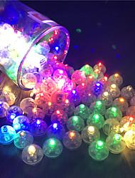 Недорогие -12 шт. Переключатель воздушный шар светодиодные вспышки люминесцентные лампы тумблер свет фонарь рождественская свадьба украшения день рождения декор