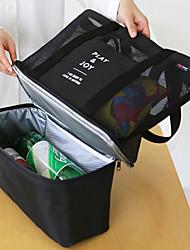 Недорогие -Органайзер для чемодана / пикника Сумка / Коробка для ланча Многофункциональный / Большая вместимость / Компактность Спорт / Повседневное использование / Переносной Ткань / Терилен / Сеть
