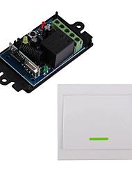 Недорогие -DC12V 1-канальный радиочастотный пульт дистанционного управления / 1 группа 10a реле приемник / мгновенный / тумблер рабочий путь может измениться / нет связи 433 мГц