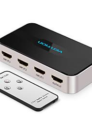 Недорогие -Переключатель сплиттер HDMI 3 вход 1 выход 4k x 2k сплиттер HDMI переключатель для Xbox 360 PS4 Smart Android ноутбук HDMI адаптер