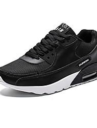 hesapli -Erkek Ayakkabı Örümcek Ağı Sonbahar Kış Atletik Ayakkabılar Günlük için Siyah / Beyaz / Bej