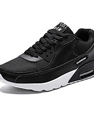 ieftine -Bărbați Pantofi de confort Plasă Toamna iarna Adidași de Atletism Negru / Alb / Bej