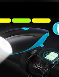Недорогие -Светодиодная лампа Велосипедные фары Велосипедная фара с сигналом LED Горные велосипеды Велоспорт Велоспорт Водонепроницаемый Несколько режимов Супер яркий Безопасность Литий-ионная 1000 lm