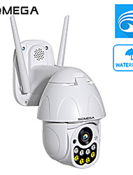 Недорогие -Inqmega 2-мегапиксельная PTZ IP-камера скорость купола Wi-Fi беспроводная сеть 5-кратный зум CCTV камеры наружного наблюдения безопасности водонепроницаемая камера ночного видения двусторонняя аудио