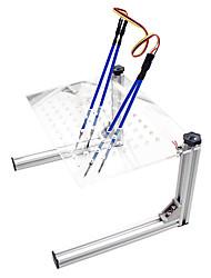 Недорогие -Полный набор программаторов ompait framefarway Светодиодный программатор кадров bdm Полный набор инструментов для чип-тюнинга KESS KTAG FGTECH 100 ECU с 4 ручками-зондами (серебристый)