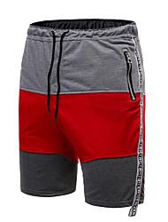 povoljno -Muškarci Ulični šik Kratke hlače Hlače - Više boja Svijetlosiva Plava Red US42 / UK42 / EU50 US44 / UK44 / EU52 US46 / UK46 / EU54