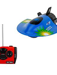 Недорогие -Лодка на радиоуправлении 2.4G Пластик / Металл каналы КМ / Ч