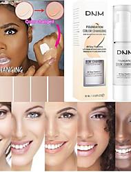 Недорогие -30мл изменяющий цвет жидкий тональный крем изменяет цвет вашей кожи, просто смешивая