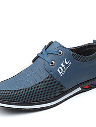 Недорогие -Муж. Комфортная обувь Полиуретан Лето Деловые Туфли на шнуровке Желтый / Синий / на открытом воздухе