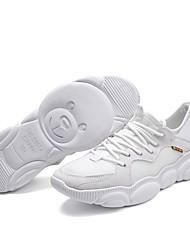Недорогие -Муж. Комфортная обувь Tissage Volant Осень Спортивная обувь Беговая обувь Черный / Коричневый / Белый