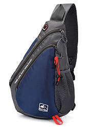 Недорогие -Универсальные Молнии Полиэстер Слинг сумки на ремне Сплошной цвет Черный / Синий / Красный