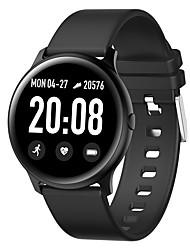 billige -BoZhuo kw19 Mænd Kvinder Smartur Android iOS Bluetooth Vandtæt Blodtryksmåling Sport Brændte kalorier Smart Skridtæller Samtalepåmindelse Sleeptracker Stillesiddende Reminder Vækkeur