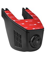 Недорогие -A5-D 1080p HD Автомобильный видеорегистратор 165 градусов Широкий угол Нет экрана (выход на APP) Капюшон с WIFI / Ночное видение / Циклическая запись Автомобильный рекордер