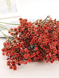 povoljno -Umjetna Cvijeće 2 Podružnica Klasični Moderna Pastoral Style Dječji dah Vječni cvjetovi Cvjeće za stol