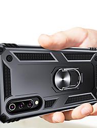 Недорогие -Роскошные доспехи мягкий противоударный чехол для Huawei P Smart 2019 P Smart Z силиконовый чехол для бампера ТПУ для Huawei Honor 10 Lite Y9 Prime 2019 автомобиль металлический магнитный палец кольцо