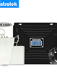 Недорогие -Lintratek 900 1800 2100 МГц усилитель сигнала мобильного телефона усилитель 2 г 3 г 4 г антенный усилитель комплект