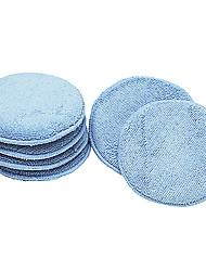povoljno -plavi lak za poliranje automobila od mikrofibera (paket od 6)