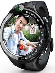 Недорогие -lokmat lok02 мужчины женщины smartwatch android ios wifi 3g 4g сенсорный экран монитор сердечного ритма спортивные громкие звонки умный таймер секундомер шагомер напоминание об активности трекер