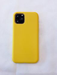 billige -Etui Til Apple iPhone 11 / iPhone 11 Pro / iPhone 11 Pro Max Ultratynn Bakdeksel Ensfarget TPU