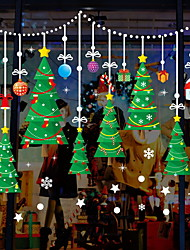Недорогие -Декоративные наклейки на стены - Праздник стены стикеры Рождество В помещении