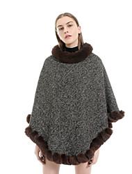 Недорогие -Жен. Активный / Классический Прямоугольный платок Однотонный