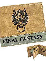 Недорогие -Сумки / Кошельки Вдохновлен Final Fantasy Косплей Аниме/Видеоигры Косплэй аксессуары Кошелек ЖелтыйЛакированная кожа / Полиуретановая