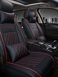 Недорогие -универсальная вся автомобильная кожаная опорная подушка автомобильные чехлы на сиденья аксессуары для подушки