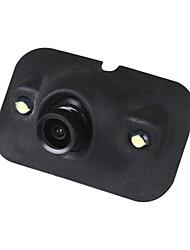 Недорогие -ziqiao mini ccd hd ночного видения 360 градусов автомобильная камера заднего вида передняя камера передний вид сбоку камера заднего вида 2 светодиодная