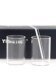 Недорогие -замена стеклянной трубки yuhetec для kangertech evod pro v2 2шт