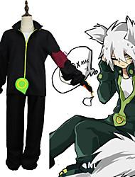 Недорогие -Вдохновлен Мир Aotu Косплей Аниме Косплэй костюмы Японский Косплей Костюмы Пальто / Брюки / Рукава Назначение Муж.