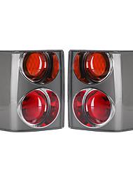 Недорогие -задний левый (# 1) / правый (# 2) задний фонарь в сборе автомобиля стоп-сигнал пожелтевшего цвета для Range Rover мод l322 2002-2009