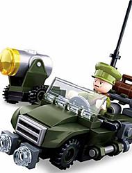 Недорогие -Конструкторы 91 pcs совместимый Legoing трансформируемый Все Игрушки Подарок