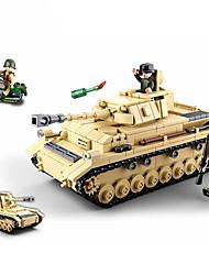 Недорогие -Конструкторы 543 pcs совместимый Legoing трансформируемый Все Игрушки Подарок