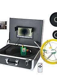 Недорогие -Mountainone 30 м 9 дюймов Wi-Fi беспроводная камера для осмотра канализационных труб 1/3 дюйма cmos 1000tvl эндоскоп ip68 мобильный просмотр видео запись трубка камеры TFT экран