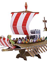 Недорогие -One Piece 3D пазлы мини Корабль Черная жемчужина 3D в мультяшном стиле 1 pcs Дети Все Игрушки Подарок