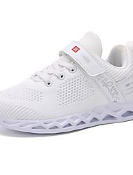 abordables -Garçon Maille Chaussures d'Athlétisme Grands enfants (7 ans et +) Confort Marche Blanche / Bleu / Rose Automne