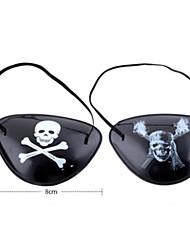 Недорогие -Одноглазый пиратский патч для Хеллоуин костюм участника