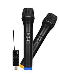 Недорогие -wm-2 uhf мини беспроводной микрофон микрофон мастер микрофон для активного отдыха ktv караока па динамик домашняя студия