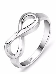 Недорогие -Серебряное кольцо бесконечности кольцо вечности прелести лучший друг подарок бесконечный символ любви модные кольца для женщин ювелирные изделия