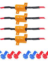 Недорогие -8 шт. 10 Вт 39 Ом светодиодный нагрузочный резистор без предупреждения об ошибке подавитель для сигнала поворота мигать код ошибки