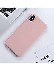 Недорогие -Кейс для Назначение Apple iPhone 11 / iPhone 11 Pro / iPhone 11 Pro Max Защита от удара / Ультратонкий Кейс на заднюю панель Однотонный / Плитка ТПУ