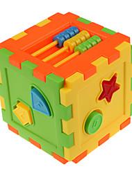 billige -Byggeklosser 16 pcs Nyhet kompatibel Legoing geometrisk mønster Alle Leketøy Gave