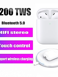 billige -LITBest i200 TWS True Wireless Hodetelefon Trådløs EARBUD Bluetooth 5.0 Støyreduksjon