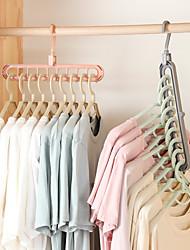 Недорогие -2 шт. Вешалка для одежды организатор многопортовая поддержка сушки стеллажи пластиковые шарф Cabide стойки хранения вешалки