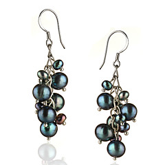 Women's Pearl Costume Jewelry Silver Sterling Silver Jewelry For
